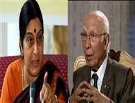 Pakistan 'spoiled the talks' by talking to Hurriyat, says Sushma Swaraj