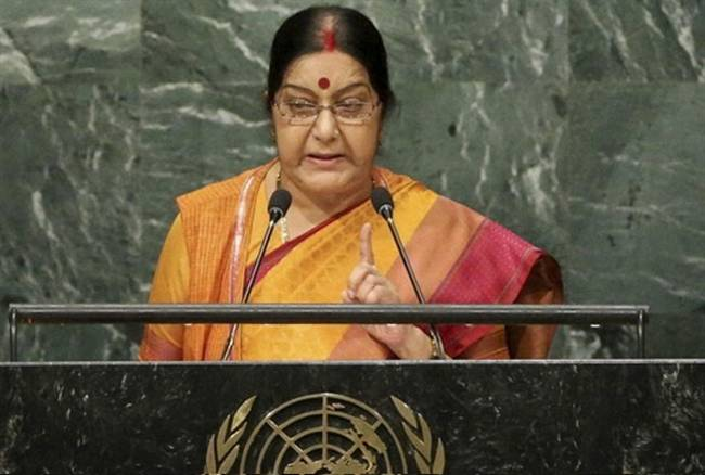 UNGA ,Sushma Swaraj ,Foreign Minister ,United Nations ,Session,राष्ट्र महासभा,सुषमा स्वराज,भाषण,बड़ी बातें