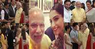 PM Modi's selfie time with bollywood celebs
