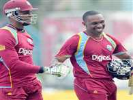 Differences emerged in the West Indies