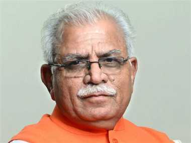 Manohar Lal Khattar to be sworn in as the Chief Minister of Haryana later today