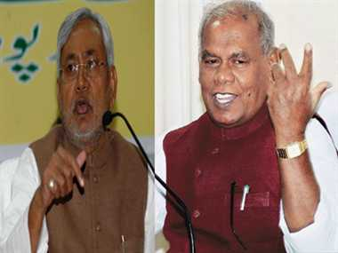 clash between manjhi and nitish disturbs development
