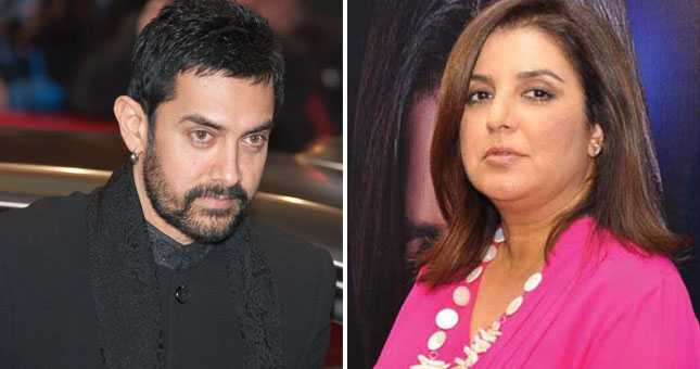 Filmmaker Farah Khan has come out in support of actor Aamir Khan
