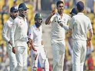 Record levels for Most wickets in a day in test in India