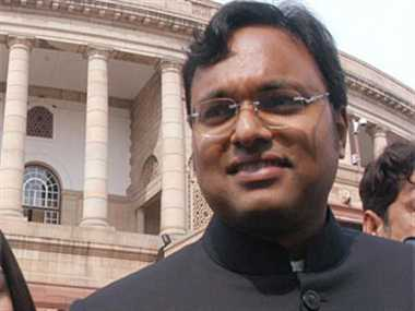 Karti raises questions on the right of the state Congress chief