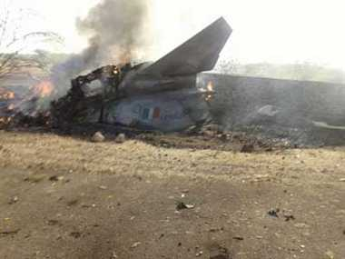 Fighter jet MIG 27 crashes near Barmer district in Rajasthan