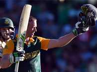 AB de Villiers slams second fastest hundred in World Cup history