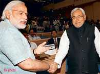 Modi-Nitish shook hands