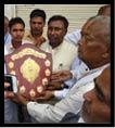 राज्य मंत्री का किया गया नागरिक अभिनंदन