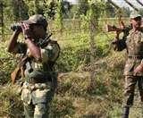 अंतरराष्ट्रीय सीमा पर बीएसएफ ने पाक घुसपैठिये को मार गिराया