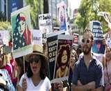अमेरिका में भारतवंशियों ने सीएनएन के खिलाफ प्रदर्शन