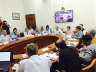 Cabinet Secretary  now chairing  a meeting of  NCMC to assess relief efforts???