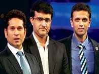 Sourav Sachin and Dravid might be selected as advisers