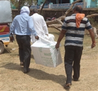 Off workers at polling centers