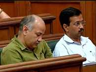 delhi assemblys special session: nap of AAP's Minister and MLA