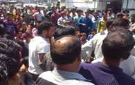 MMS Viral of Girl, Villagers Protest