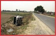 road damage in siwan