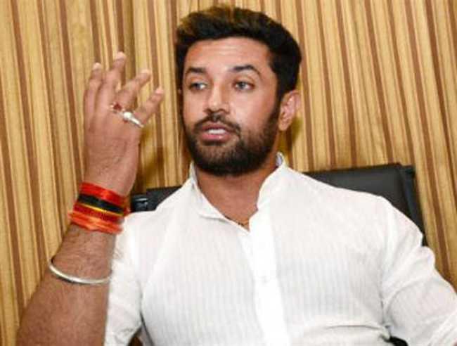 LJP MP chirag paswan said - lalu yadav in ruling party so crime increased in bihar