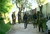 Encounter underway between security forces and terrorists in Baramulla
