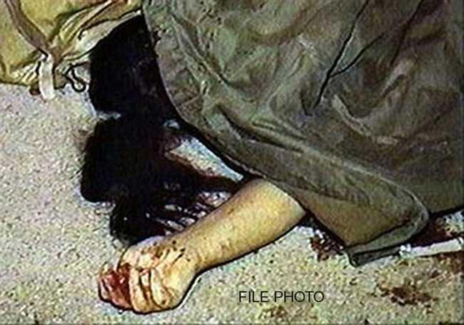 A husband brutally killed his wife to wearing salwar kurta