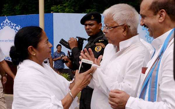 """Lalu asked mamta bannerji to bacame  prime minister? She said: """"You people must be '"""