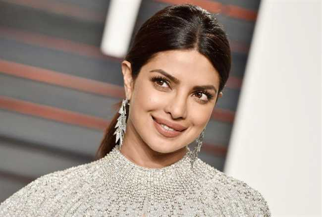 Bollywood actress Priyanka Chopra returned to India