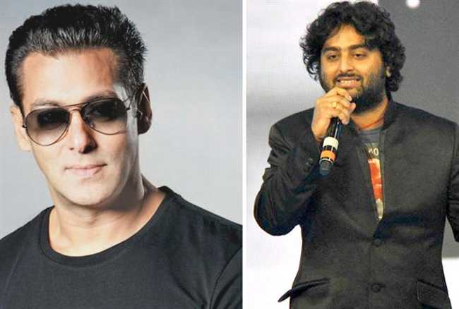 Salman makes a final decision on Arijit Singhs song in Sultan
