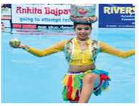 Teenager dances in water for 8 hours for rains in B'khand