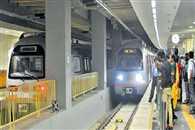 Delhi Metro Snag Delays Dwarka Vaishali Noida blue lines