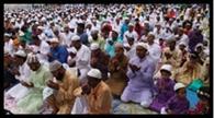 अल्लाह की इबादत के लिए झुके लाखों सिर