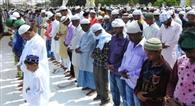 अमन-चैन की दुआ के साथ मनाई ईद की खुशियां