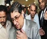 बोर्ड की मीटिंग के बाद श्रीनिवासन को आया गुस्सा, पत्रकार पर भड़के