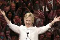US presidential election hillary clinton wins democratic nomination