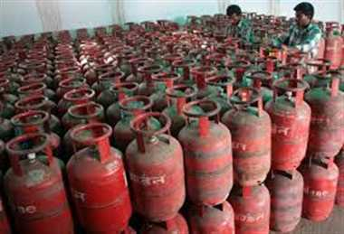 gas cylinder may be taken any month
