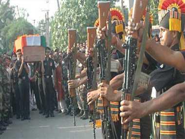 martyr dhananjay's funeral in maner