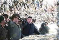 North Korea enraged by light, firing warning
