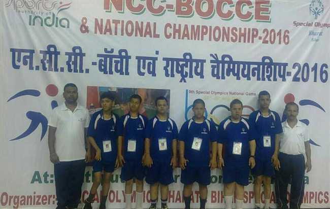 Uttarakhand team won Silver medel in bocchi national championship