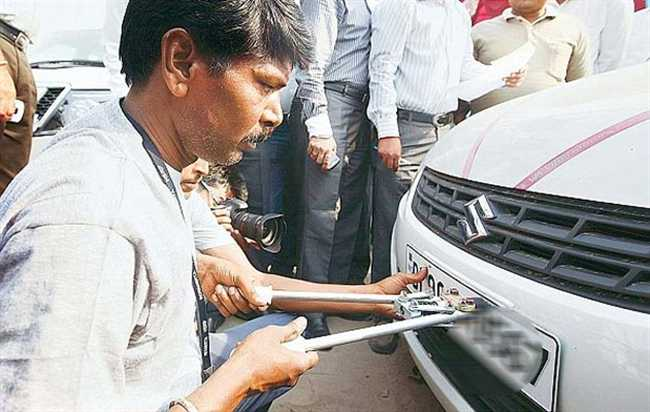 Other state's first choice dehradun to car registeration