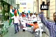 baluch supporters protested against Pakistan in Germany