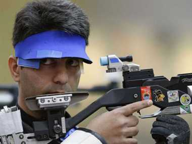 Abhinav Bindra clinches gold medal at Asian AirGun Championship