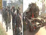 army will used tank in arnia
