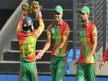 Bangladesh beat zimbabwe by 124 runs