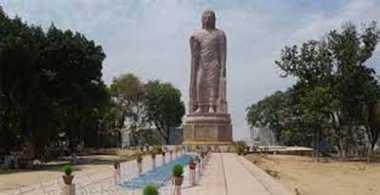 Six to 70 feet high statue of Lord Buddha