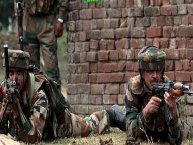 encounter on in arnia, terrorist attack before prime minister's visit