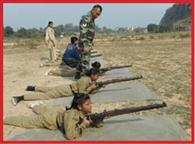 The practice of cadets Faydakshrg