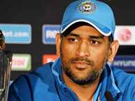 India captain Mahendra Singh Dhoni will be in Greater noida