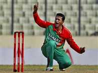 "Bangladesh""s Shakib banned for abusing umpire"