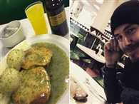 Beckham orders 1000 pound pie and mash on private jet