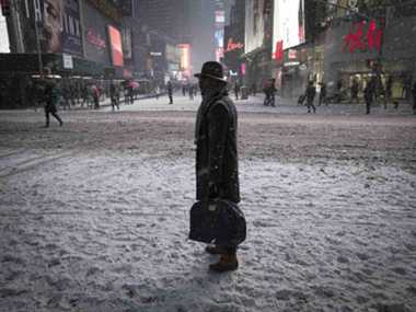Blizzard spares New York, New England buried in snow