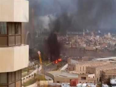 12 killed in Libya hotel attack